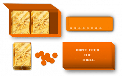 Don't Feed the Troll, du prototype au travail d'illustration